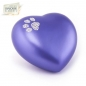Mobile Preview: Heart, Paw Print, Pet Urns,urn swarovski