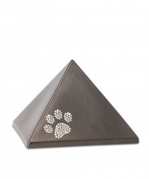 Urne animaux edition crystal - pyramide Couleur:  Chocolat
