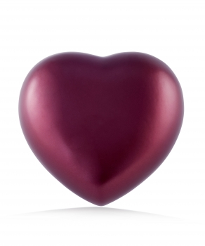 Pet urns Heart  Color: Red