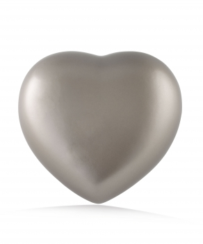 Urne animaux coeur Couleur: Gris olive