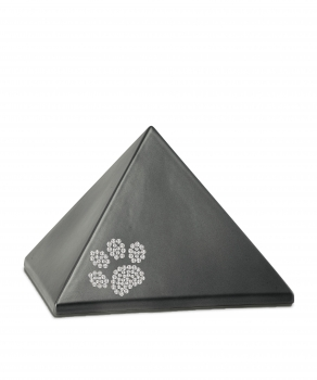 Pet urns   Color:  Anthracite pyramide with paw