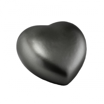 Pet urns Heart  Color: anthracite