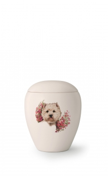Urne animaux de Race     Race: West Highland White Terrier