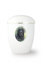 Option: personalized urn with medallion photo - photo 2d effect