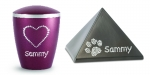 Option: Personalized your urn with swarovski crystals