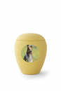 Option: personalized urn with photo medallion - oval or round format